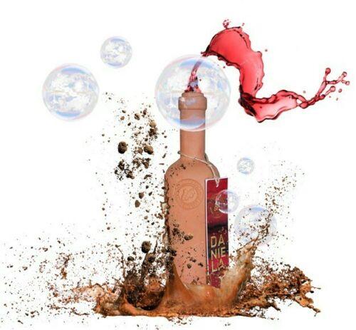 Botella Terrracotta para vino
