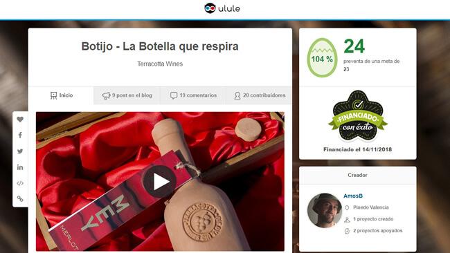 Campaña crowdfunding Ulule - Crowfunding